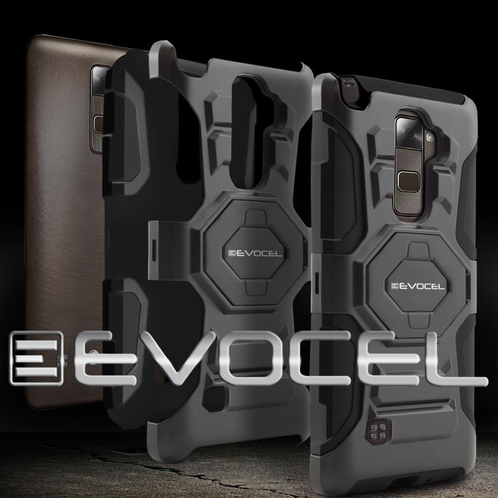 LG Stylo 2 Plus Evocel Rugged Holster Cases