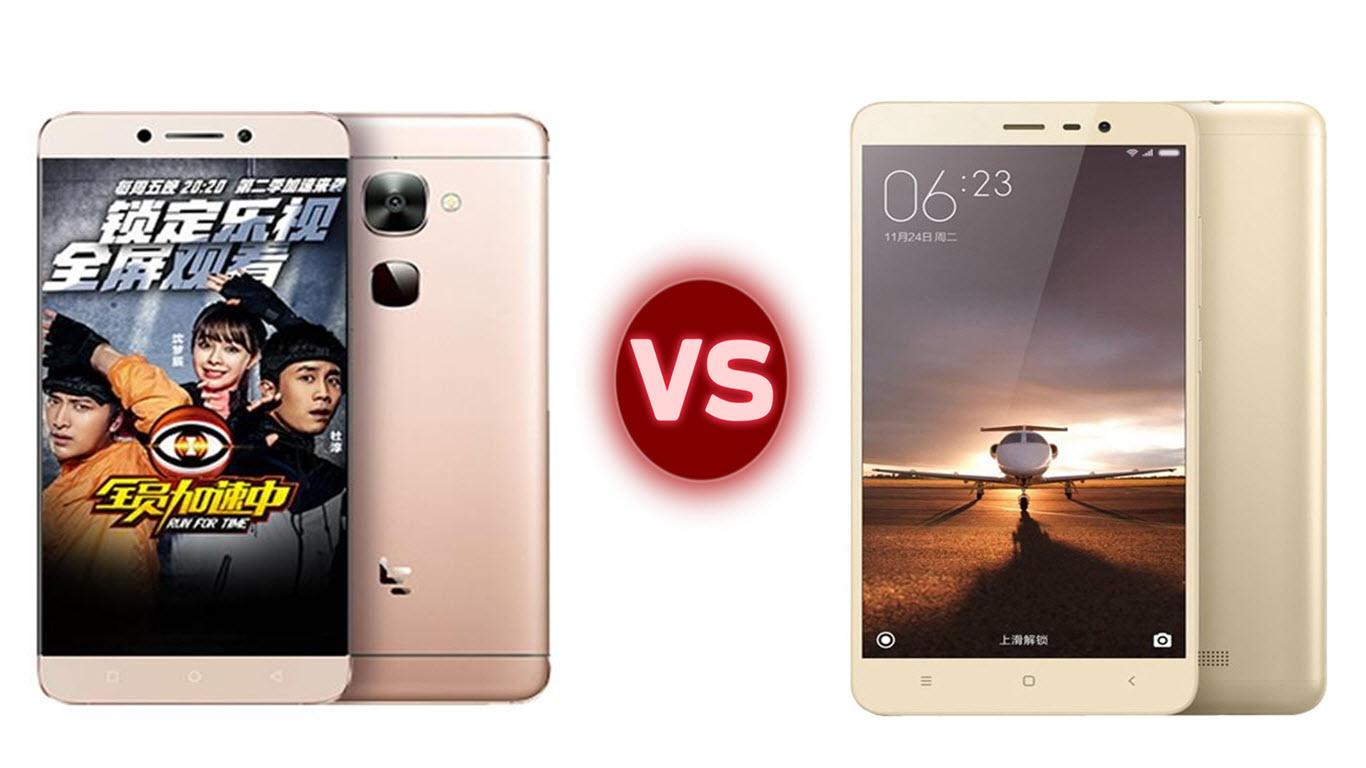 LeEco Le 2 vs Redmi Note 3 Pro