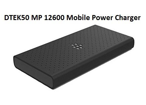 BlackBerry DTEK50 MP 12600 Mobile Power Charger