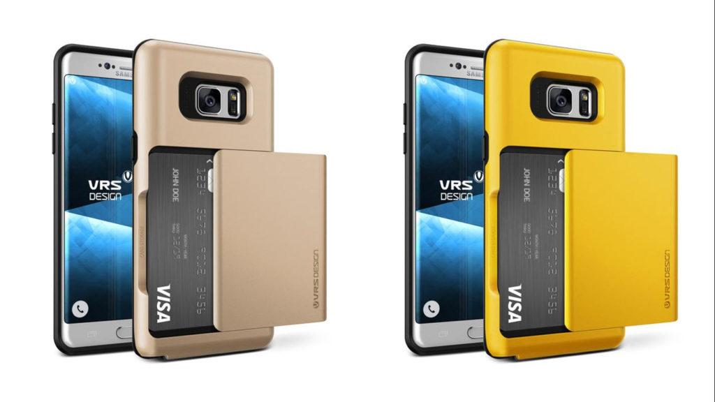 Galaxy Note 7 Case, VRS Design Damda Glide Wallet Cases