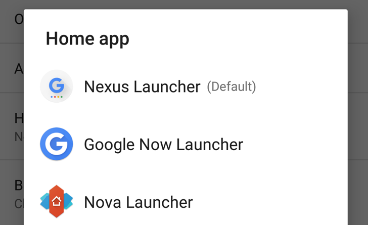 Google New Nexus Android 7.0 Nougat Launcher