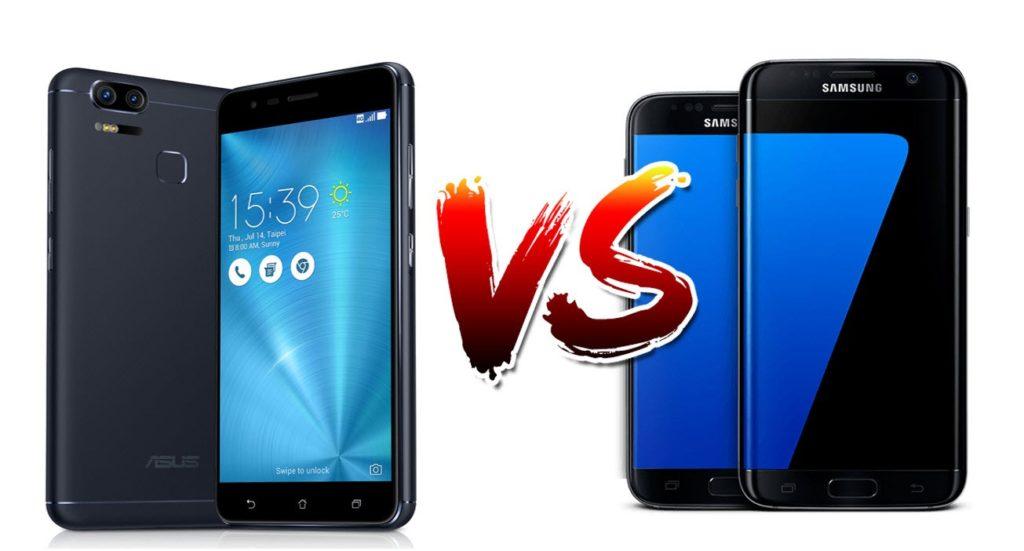 Asus Zenfone 3 Zoom vs Samsung Galaxy S7