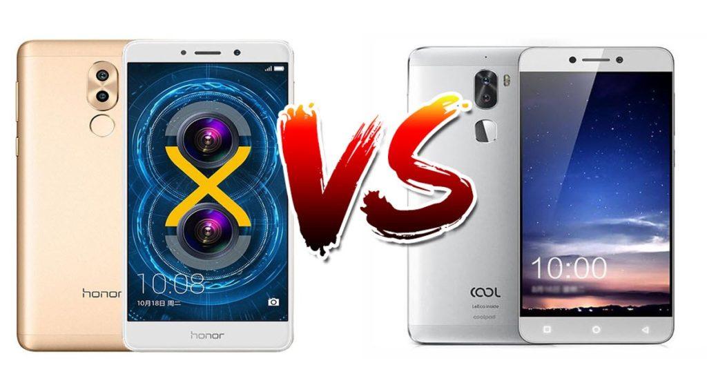 6X vs Coolpad Cool 1 vs Lenovo P2