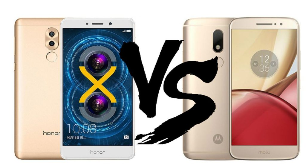 Huawei Honor 6X vs Motorola Moto M