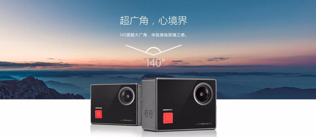 LeEco Liveman C1 4K action camera