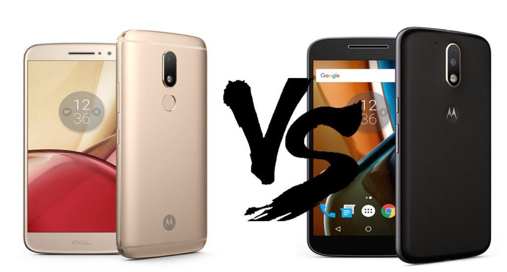 Motorola Moto M vs Moto G4