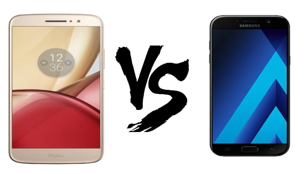 Samsung Galaxy A7 (2017) VS Motorola Moto M