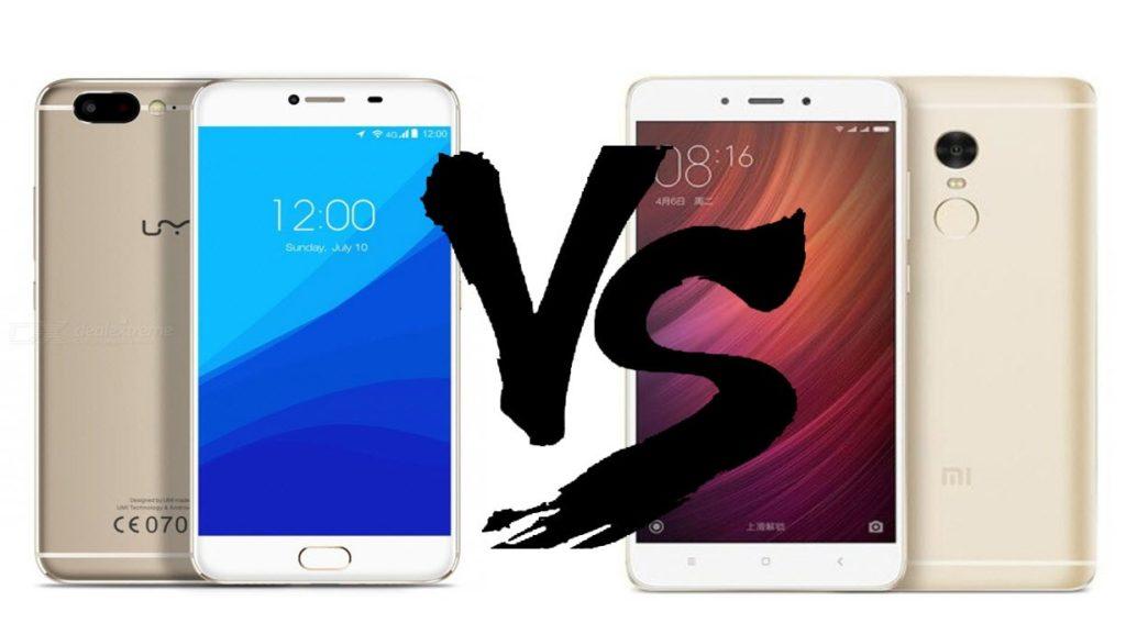 UMI Z Helio X27 vs Redmi Note 4 Helio X20