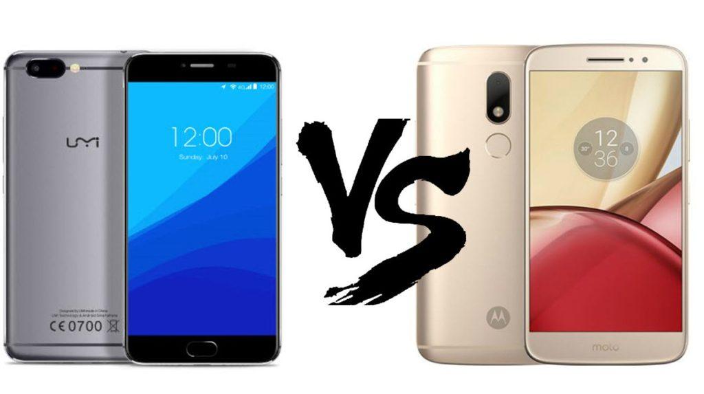 UMI Z vs Motorola Moto M