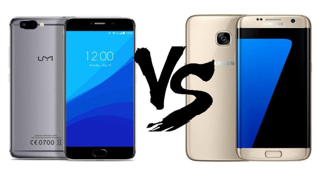 UMI Z vs Samsung Galaxy S7 Edge