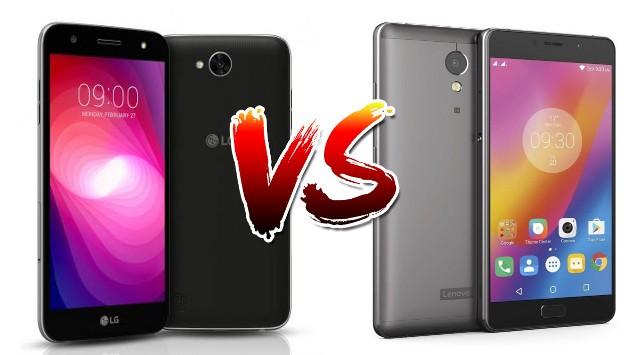 LG X Power 2 vs Lenovo P2