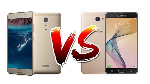 Lenovo P2 vs Samsung Galaxy J7 Prime
