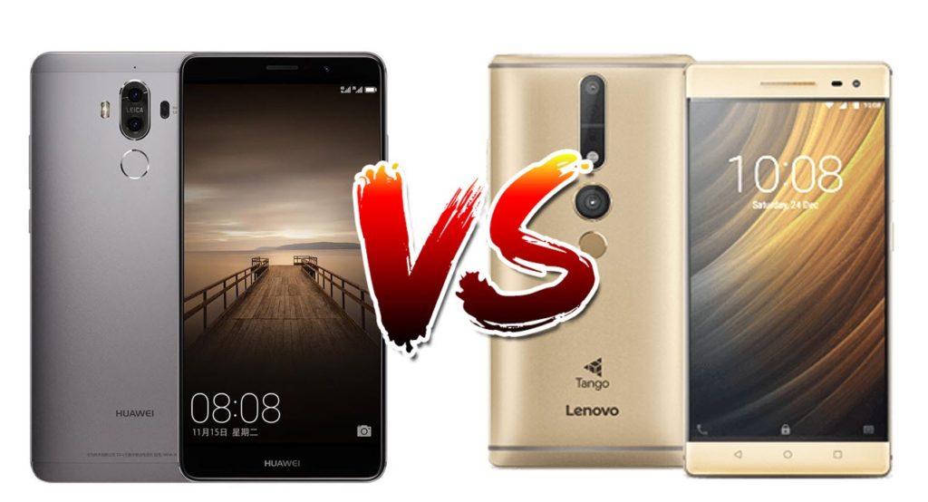 Lenovo Phab 2 Pro vs Huawei Mate 9