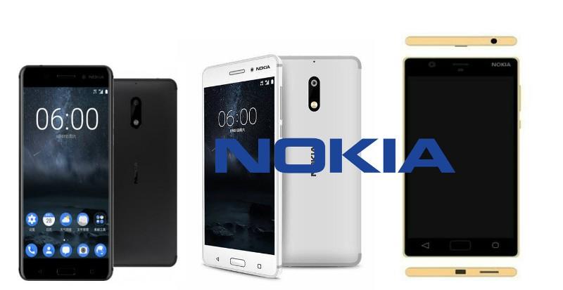 Nokia 3 vs Nokia 5 vs Nokia D1C