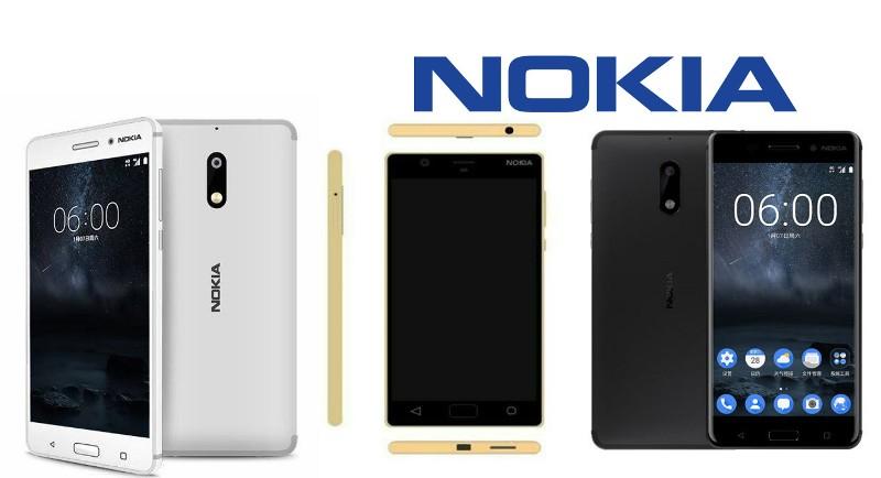 Nokia 5 vs Nokia D1C vs Nokia 6