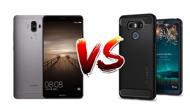 LG G6 vs Huawei Mate 9