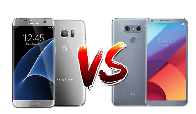 LG G6 vs Samsung Galaxy S7 AT&T