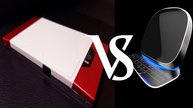 Turing Phone Cadenza vs Turing Monolith Chaconne