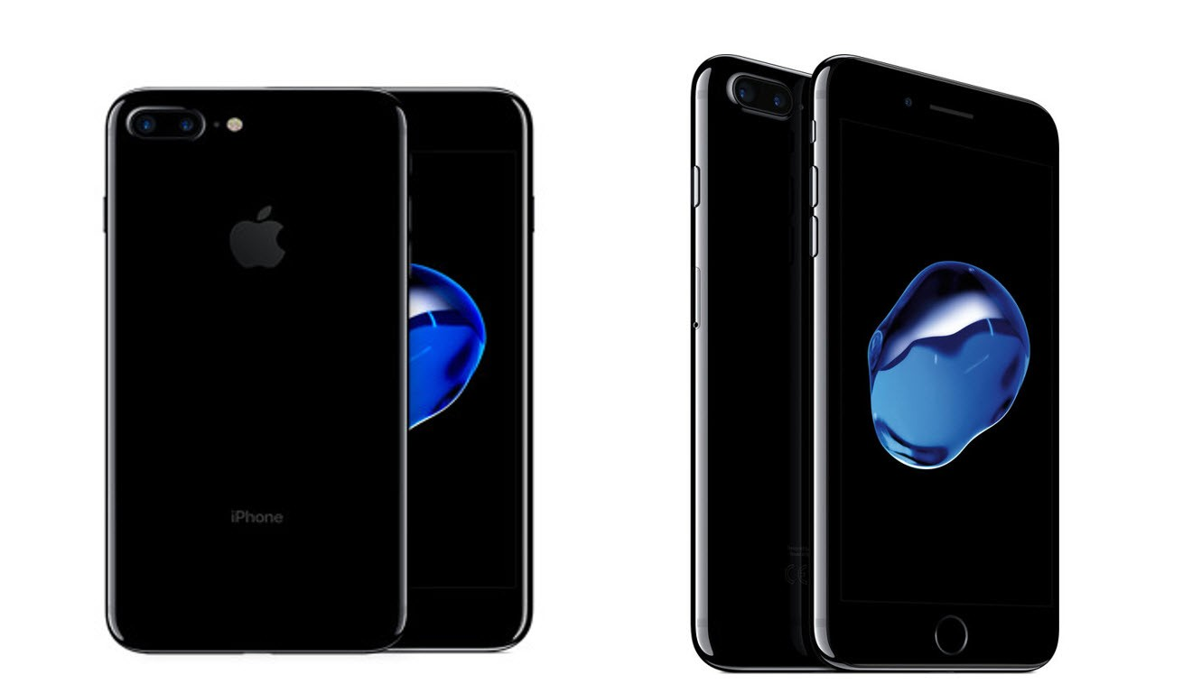 Iphone  Plus Jet Black Unlocked