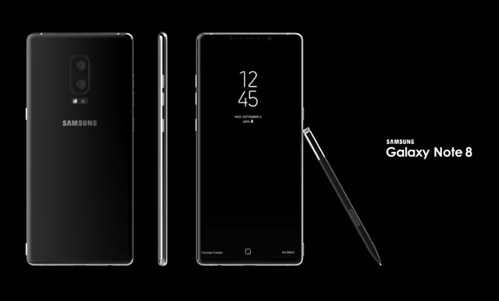 samsung galaxy note 8 specs release date