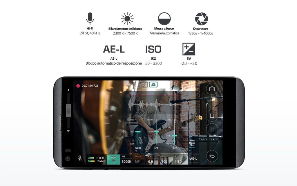 LG Q8 rear camera