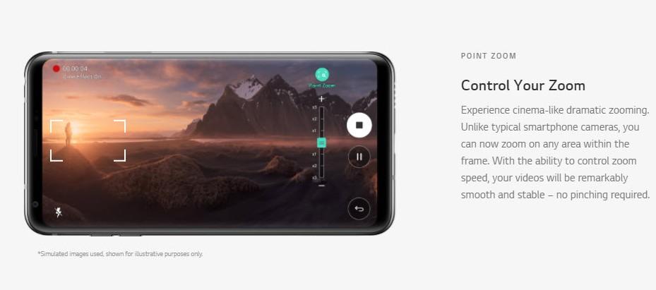 LG V30 Camera