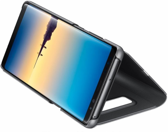 Samsung Galaxy Note 8 S-View Flip Cover with Kickstand Case