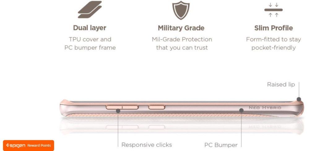 Galaxy Note 8 Case Neo Hybrid