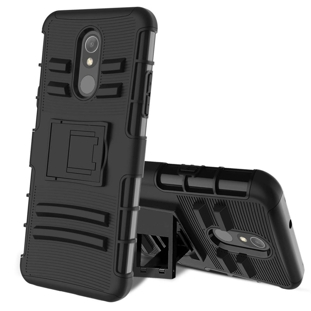 LG Stylo 5 Hybrid with Kickstand,TPU Bumper Protective Cover