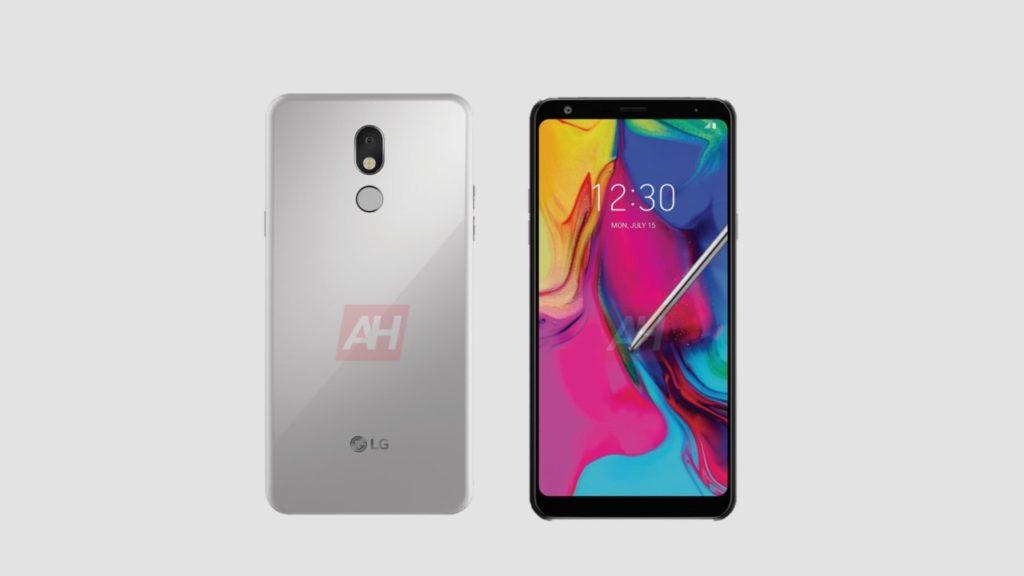 LG Stylo 5 platinum gray look.