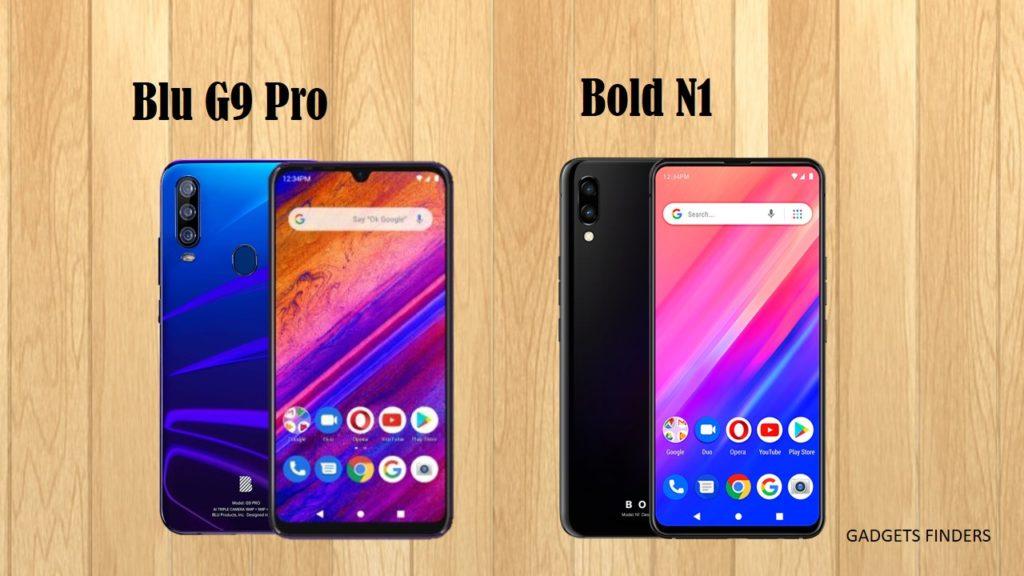 BLU Bold N1 vs Blu G9 Pro