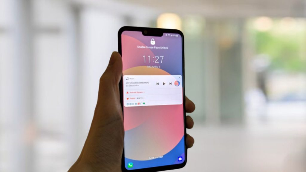 LG G8 ThinQ Android 10 Update T-Mobile