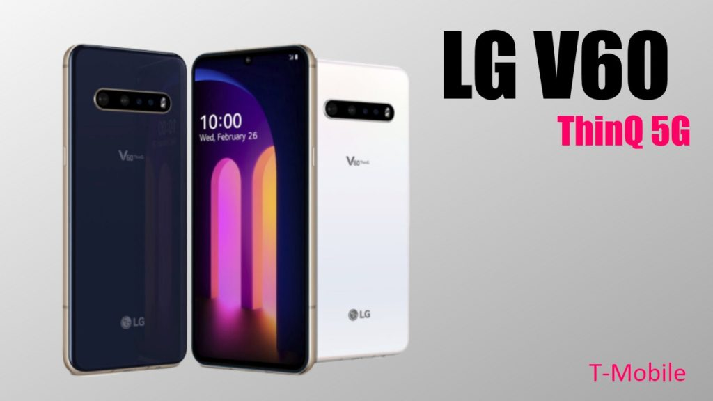 LG V60 ThinQ 5G Colors