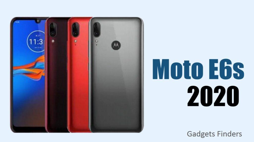 Moto E6s Colors