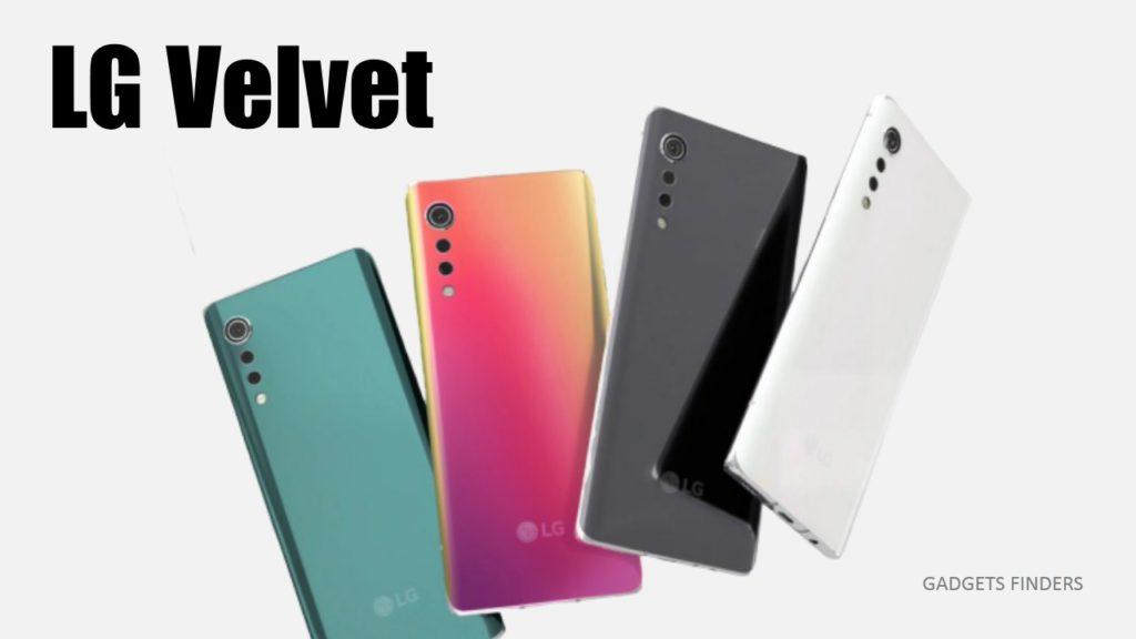 LG Velvet 5g colors