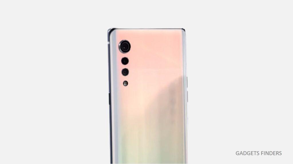 LG Velvet 5g phone