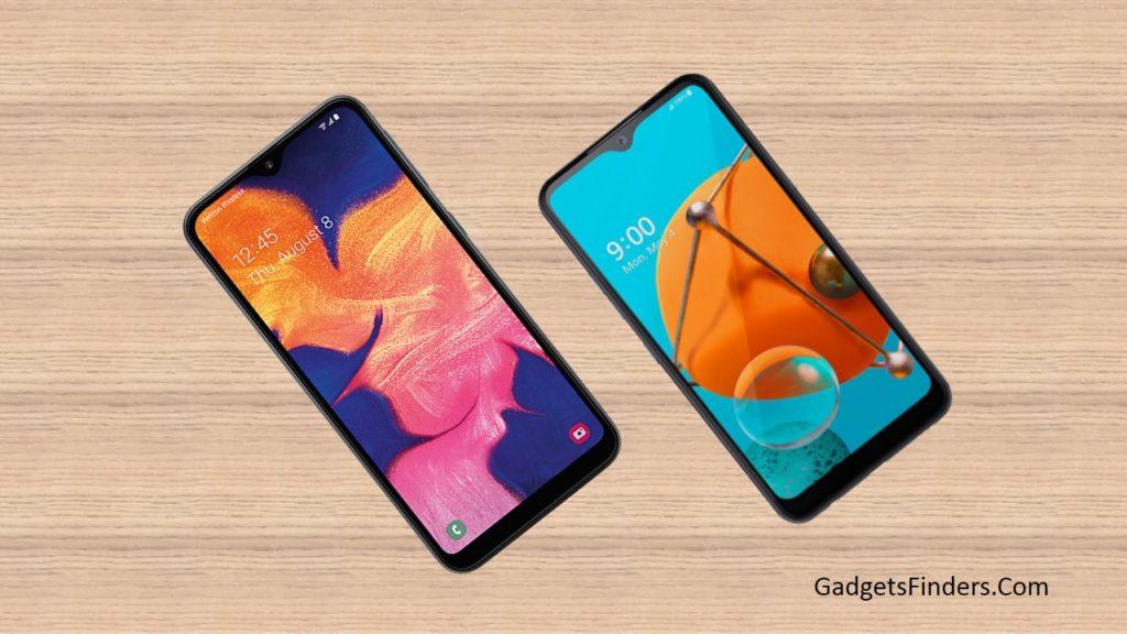 LG K51 vs Samsung Galaxy A10e