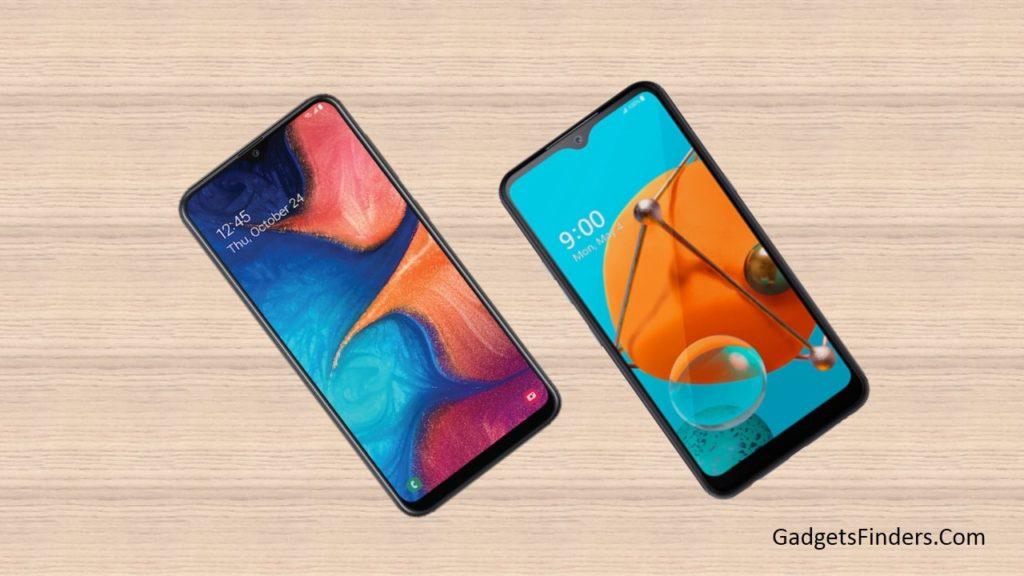 LG K51 vs Samsung Galaxy A20