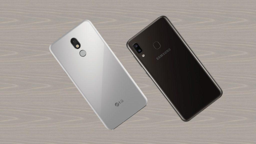 LG Stylo 5X vs Samsung Galaxy A20