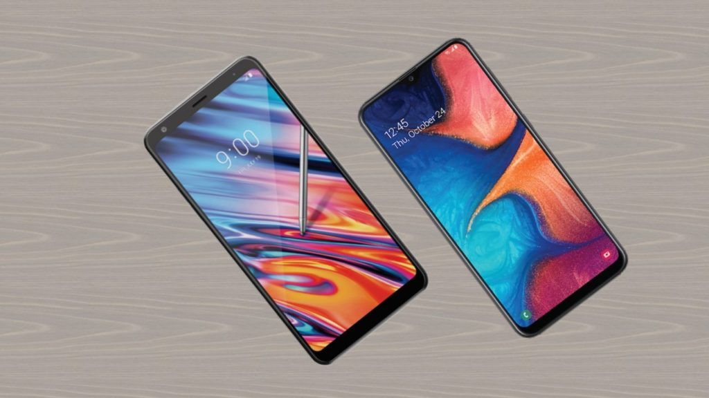 LG Stylo 5X vs Samsung Galaxy A20 (Boost Mobile)