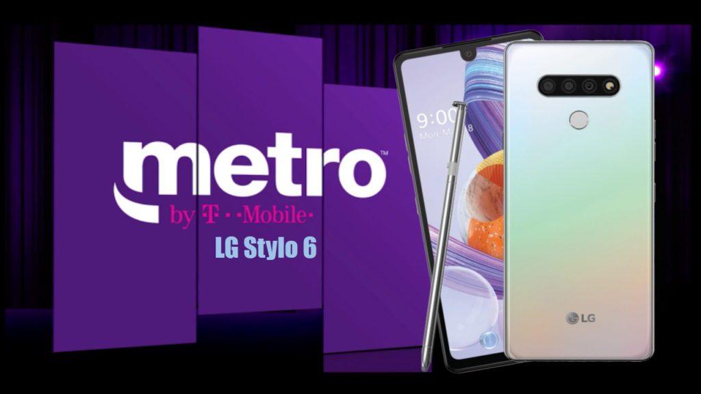 LG Stylo 6 MetroPCS