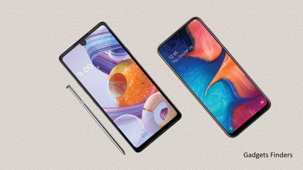 LG Stylo 6 vs Samsung Galaxy A20