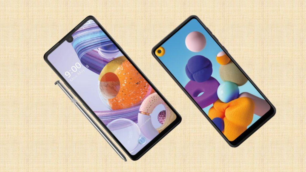 LG Stylo 6 vs Samsung Galaxy A21 specs