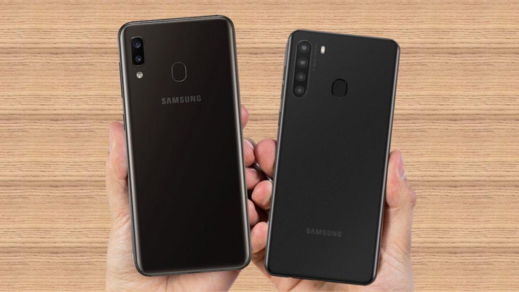 Samsung Galaxy A21 vs Samsung Galaxy A20