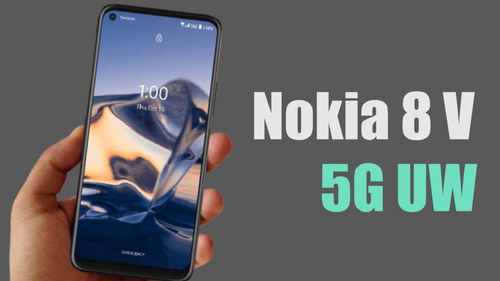 Nokia 8 V 5G UW Verizon