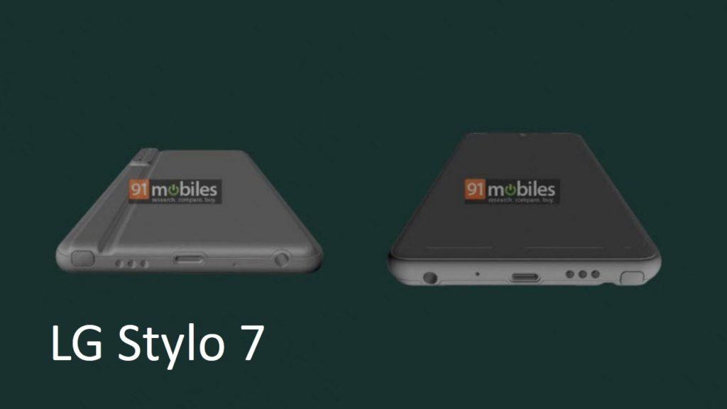 LG Stylo 7 renders